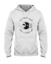 And I Think To My Self Hooded Sweatshirt thumbnail