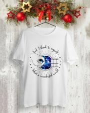 Wonderful World Classic T-Shirt lifestyle-holiday-crewneck-front-2