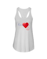 LOVE MYSELF Ladies Flowy Tank tile