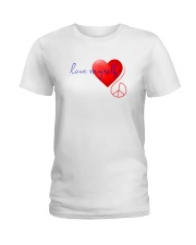 LOVE MYSELF Ladies T-Shirt tile
