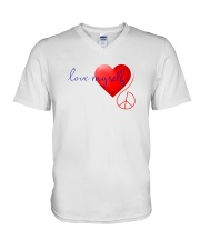 LOVE MYSELF V-Neck T-Shirt tile