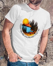 Mountains Are Calling Classic T-Shirt lifestyle-mens-crewneck-front-4
