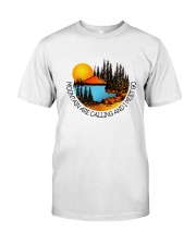 Mountains Are Calling Premium Fit Mens Tee thumbnail