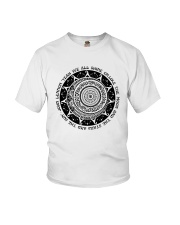 WE ALL SHINE ON LIKE THE MOON Youth T-Shirt thumbnail