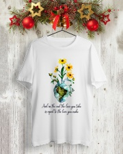 And In The End The Love You Take Classic T-Shirt lifestyle-holiday-crewneck-front-2