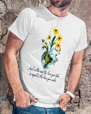 And In The End The Love You Take Classic T-Shirt lifestyle-mens-crewneck-front-4