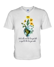 And In The End The Love You Take V-Neck T-Shirt thumbnail