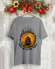 Take Me To The Trees Classic T-Shirt lifestyle-holiday-crewneck-front-2