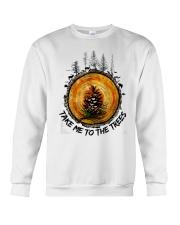 Take Me To The Trees Crewneck Sweatshirt thumbnail