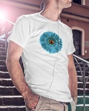 Peace Flower Classic T-Shirt lifestyle-mens-crewneck-front-5