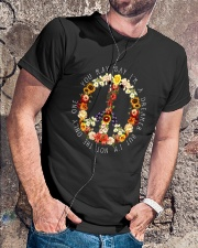 PEACE LOVE Classic T-Shirt lifestyle-mens-crewneck-front-4
