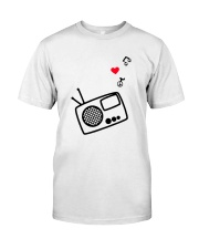 RADIO LOVE Classic T-Shirt front