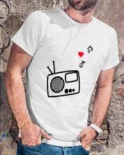 RADIO LOVE Classic T-Shirt lifestyle-mens-crewneck-front-4