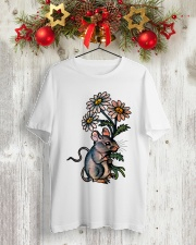 MOUSE LOVE PEACE Classic T-Shirt lifestyle-holiday-crewneck-front-2