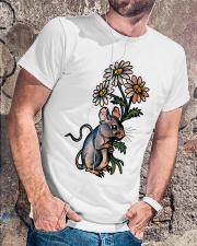 MOUSE LOVE PEACE Classic T-Shirt lifestyle-mens-crewneck-front-4