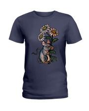 MOUSE LOVE PEACE Ladies T-Shirt thumbnail