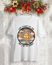 Here Come The Sun 3 Classic T-Shirt lifestyle-holiday-crewneck-front-2