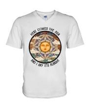 Here Come The Sun 3 V-Neck T-Shirt thumbnail