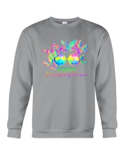 ALL THE PEOPLE LIVING LIFE IN PEACE Crewneck Sweatshirt thumbnail