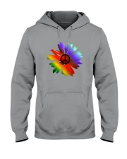PEACE FLOWER Hooded Sweatshirt thumbnail
