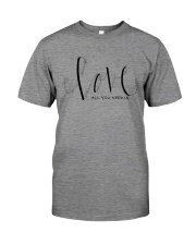 ALL YOU NEED IS LOVE Premium Fit Mens Tee thumbnail