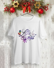 LIFE Classic T-Shirt lifestyle-holiday-crewneck-front-2