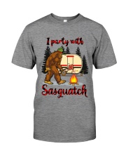 I Party With Sasquatch Premium Fit Mens Tee thumbnail