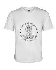 Yoga Style V-Neck T-Shirt thumbnail