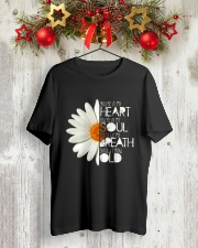 HEART SOUL BREATH OLD Classic T-Shirt lifestyle-holiday-crewneck-front-2