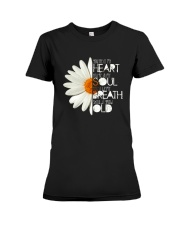 HEART SOUL BREATH OLD Premium Fit Ladies Tee thumbnail