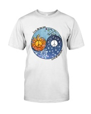 LOVE BY THE MOON Premium Fit Mens Tee front