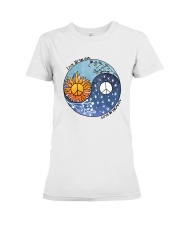 LOVE BY THE MOON Premium Fit Ladies Tee thumbnail
