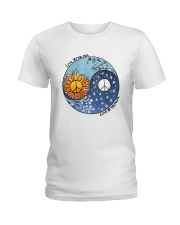 LOVE BY THE MOON Ladies T-Shirt thumbnail