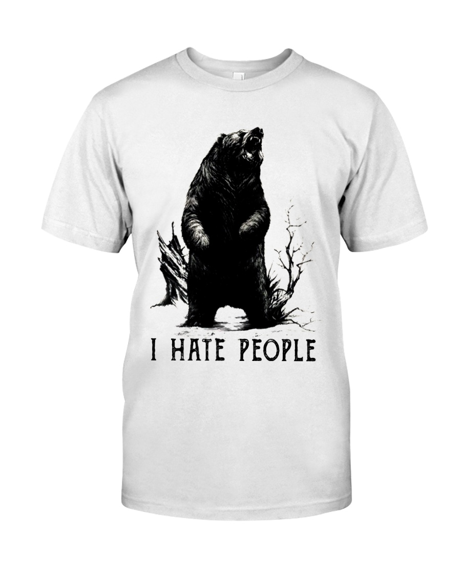 I Hate People Classic T-Shirt