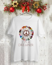 I'M A DREAMER Classic T-Shirt lifestyle-holiday-crewneck-front-2