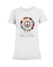 I'M A DREAMER Premium Fit Ladies Tee tile
