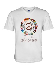 I'M A DREAMER V-Neck T-Shirt tile