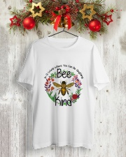 You Can Be Anything Be Kind  Classic T-Shirt lifestyle-holiday-crewneck-front-2