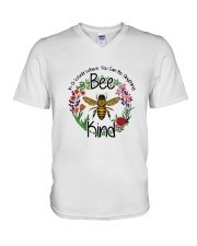 You Can Be Anything Be Kind  V-Neck T-Shirt thumbnail