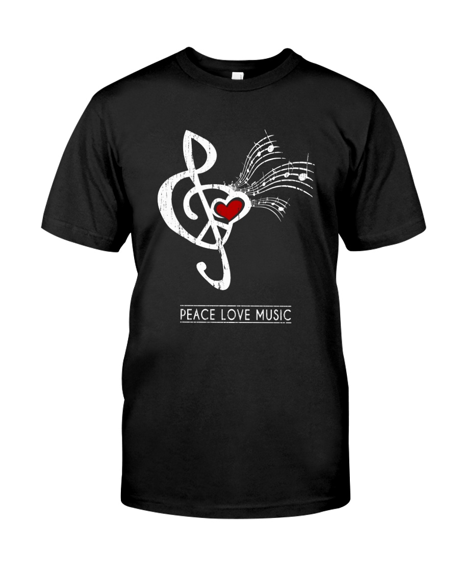 PEACE HEART Classic T-Shirt