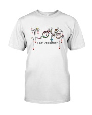 Love One Another World Classic T-Shirt front