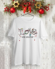 Love One Another World Classic T-Shirt lifestyle-holiday-crewneck-front-2