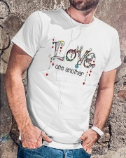 Love One Another World Classic T-Shirt lifestyle-mens-crewneck-front-4