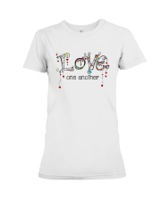 Love One Another World Premium Fit Ladies Tee thumbnail
