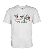 Love One Another World V-Neck T-Shirt thumbnail