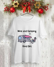 Kind Girl Classic T-Shirt lifestyle-holiday-crewneck-front-2