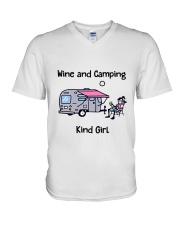 Kind Girl V-Neck T-Shirt thumbnail