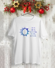 WE ALL SHINE ON Classic T-Shirt lifestyle-holiday-crewneck-front-2