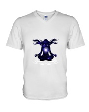 Yoga Style V-Neck T-Shirt tile