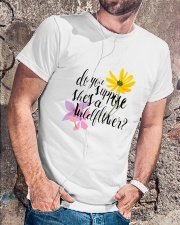 DO YOU SHE'S A WILDFLOWER Classic T-Shirt lifestyle-mens-crewneck-front-4